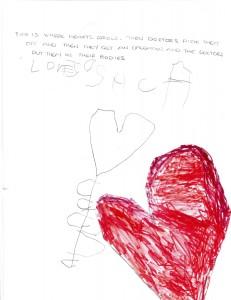 Josh heart flower